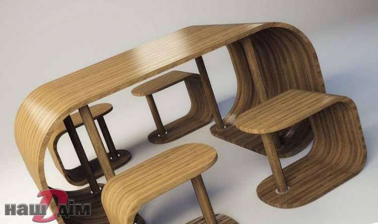 гнуті меблі